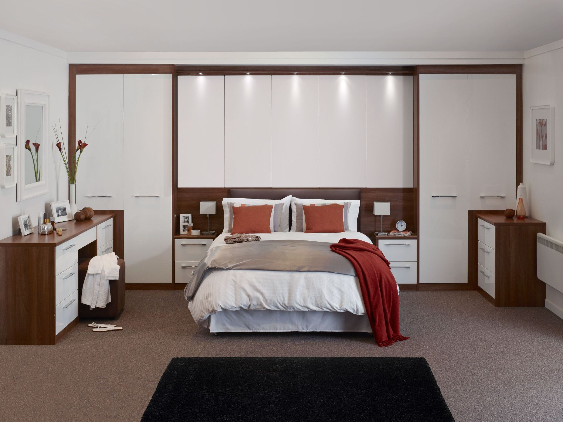 Bedroom Interiors Design Ideas, Fitted Bedroom Wardrobes ...